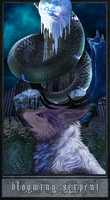 Blooming Serpent - YCH by vethysnia