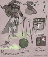 Overwatch OC: Nerium by Dr-Parasite