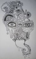 Psychedelic-Abstract Sketch. by Lacrimosa-Angelus