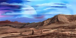 Planet Surface by Zainy7