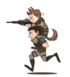 chris and piers by Gatokumn