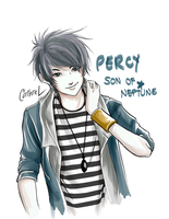 Percy: Son of Neptune by germanmissiles