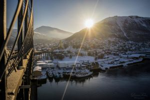 Sunrise in Tromso by LunaFeles