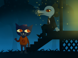 Night In The Woods - Housecall (w/ Speedpaint) by doodlemeimpressed