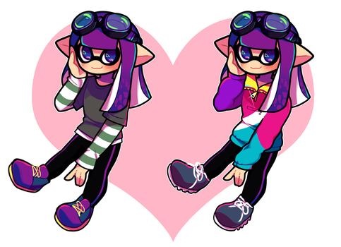 Inkling Ref - ShinyToS by Blushily