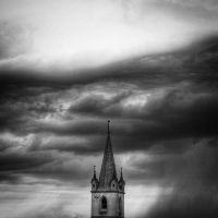 Long tedium in a sombre tower by astroangel