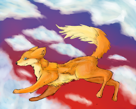 Foxes by Jufnaty