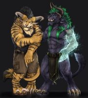 Bastioner -collab commission- by RogueLiger