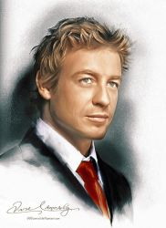 Patrick Jane The Mentalist by artistamroashry