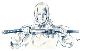 'Clover Ninja Unmasked' by Nathan Anderson by Trench-ADF