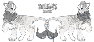 creature auction: starmaps! CLOSED by coyotestars