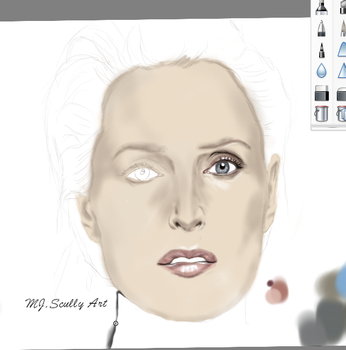 New Drawing on the way :) by MJ-Scully