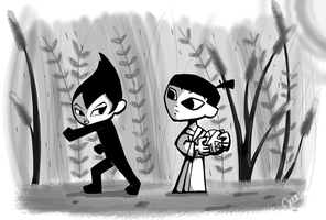 Little Jack and Ashi by janders1701