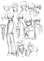 [Minecraft Male Ver.] by AT-2