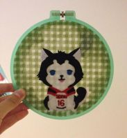 Nigou Embroidery Hoop by cloudy-days95