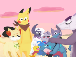 Team Poke-Pals Mission One: Part One: One by Ciinos