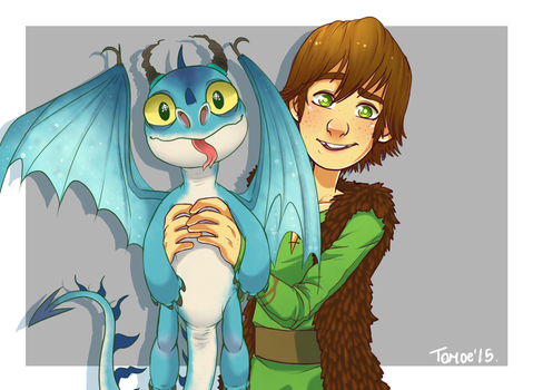 .HTTYD: A little present from Hiccup. by Kikuri-Tan
