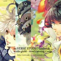 re:VERSE STUDIO Ghibli fanbook preview by aiki-ame