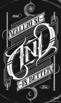AND Ambigram by suqer
