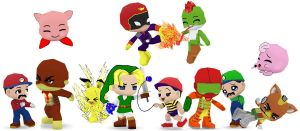 Super Smash Bros 64 Buddypoke by Ben2DJammin