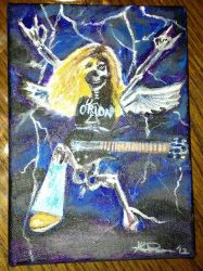Orion - Cliff Burton Tribute by MabMeddowsMercury