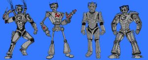 Upgrades of the Cybermen by Rassilon001