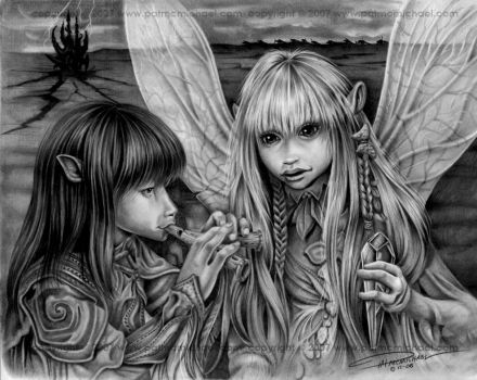 The Dark Crystal by pat-mcmichael