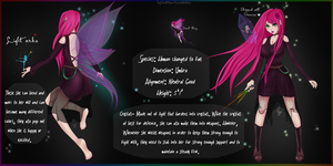 The Smol Fairy ( Persona / Umbra Character ) by IvyDarkRose