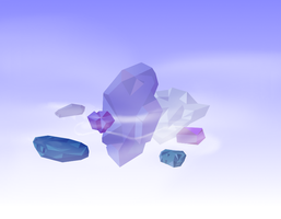 Daily81 - Floaty rocks of daily's end by RetSamys
