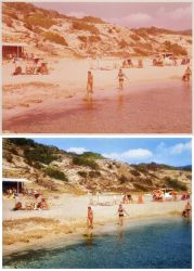 At the Beach (Photo restoration) by Rowye