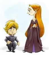 Sansa and Tyrion: The Sweetest Couple Never by XnotEX
