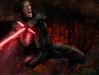 Kylo Ren Concept by beyond9thousand