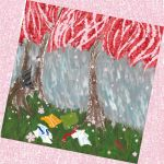 Cherry Blossoms in the rain by krypton619