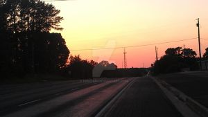 Texas Country Sunset 2 by KeiichiM