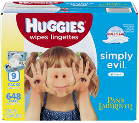 Huggies Brand Pan's Labyrinth Baby Wipes by Ghostexorcist