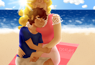 Day At The Beach by BeingOfMalevolence