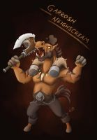 Garrosh Neighscream by Vatina