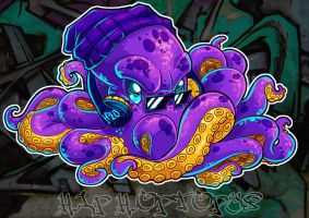 Hip Hoptopus by KaceyMeg