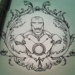 Iron Man by MrsPopsicle