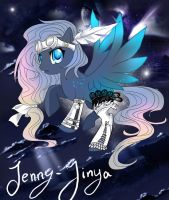 My little Pony OC design by JennyJinya