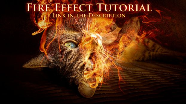 Photoshop Tutorial: Fire Effect with Smoke Brushes by XResch