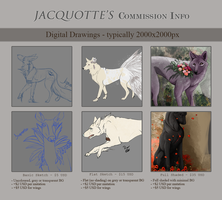 Commission Info by Jacquotte