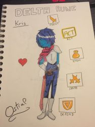 Kris Delta Rune by Ostral