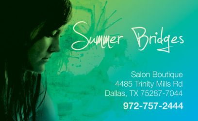 Summer Bridges Business Card by drummerboy398