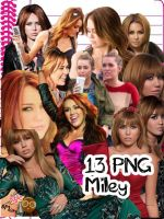 PNG Pack Miley Cyrus (13 PNG's) by vannessamorgan