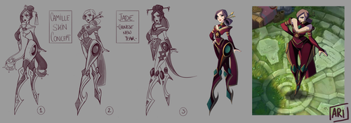 Camille (Skin concept) by SpicAlyce