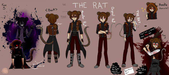 The Rat Concept by JustALittleZombie