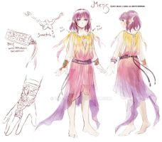 Outfit Sketch- Metis by zeldacw