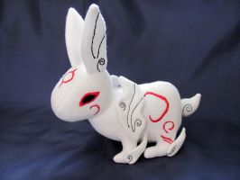 Okami - Yumigami Plushie by NocturnalEquine