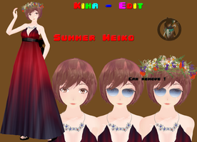 Kiha-Edit 06 - Summer Meiko by JohanYuki